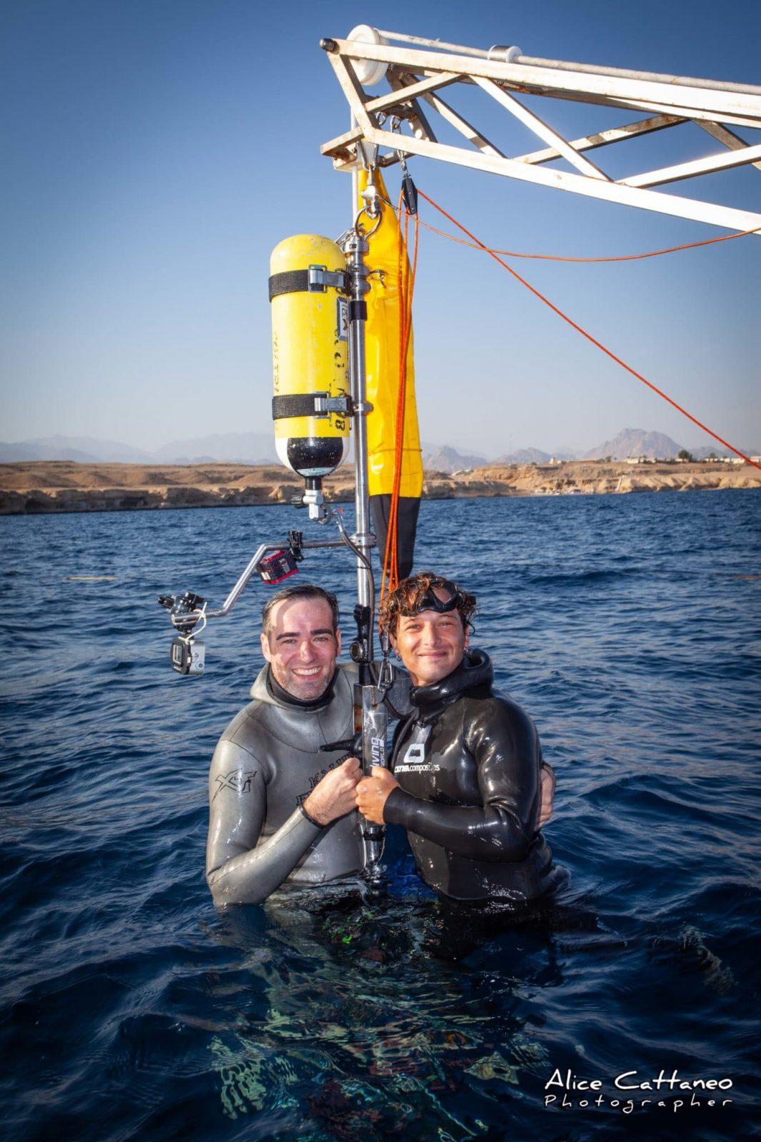 daniel-roettgermann,-tito-zappala-break-no-limits-tandem-freediving-world-record